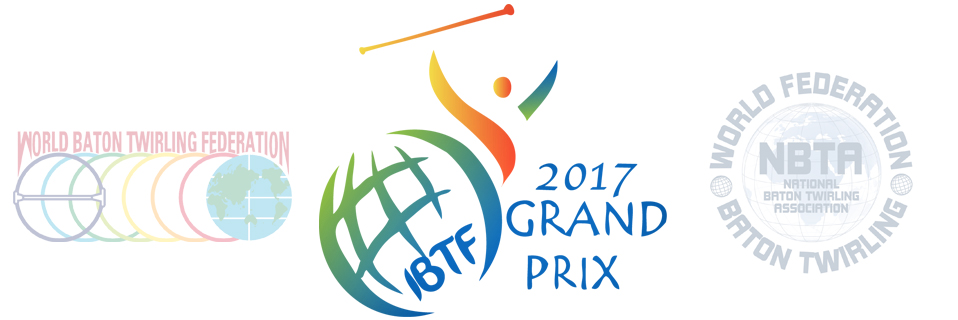 2017 IBTF Grand Prix - athletes from WBTF and WFNBTA competing in Solo, 2Baton and Team events.