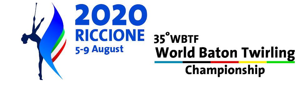 The 35th WBTF World Baton Twirling Championship will be held in Riccione, Italy between August 5-9, 2020.