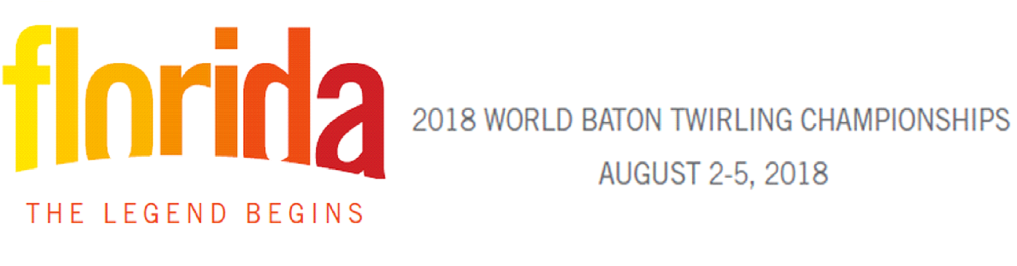 The 2018 World Baton Twirling Championship will be held at the Silver Spurs Arena in Kissimmee, FL, USA between August 2-5 2018.
