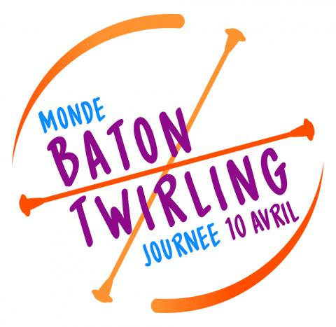 Monde Baton Twirling Day Journee Francaise